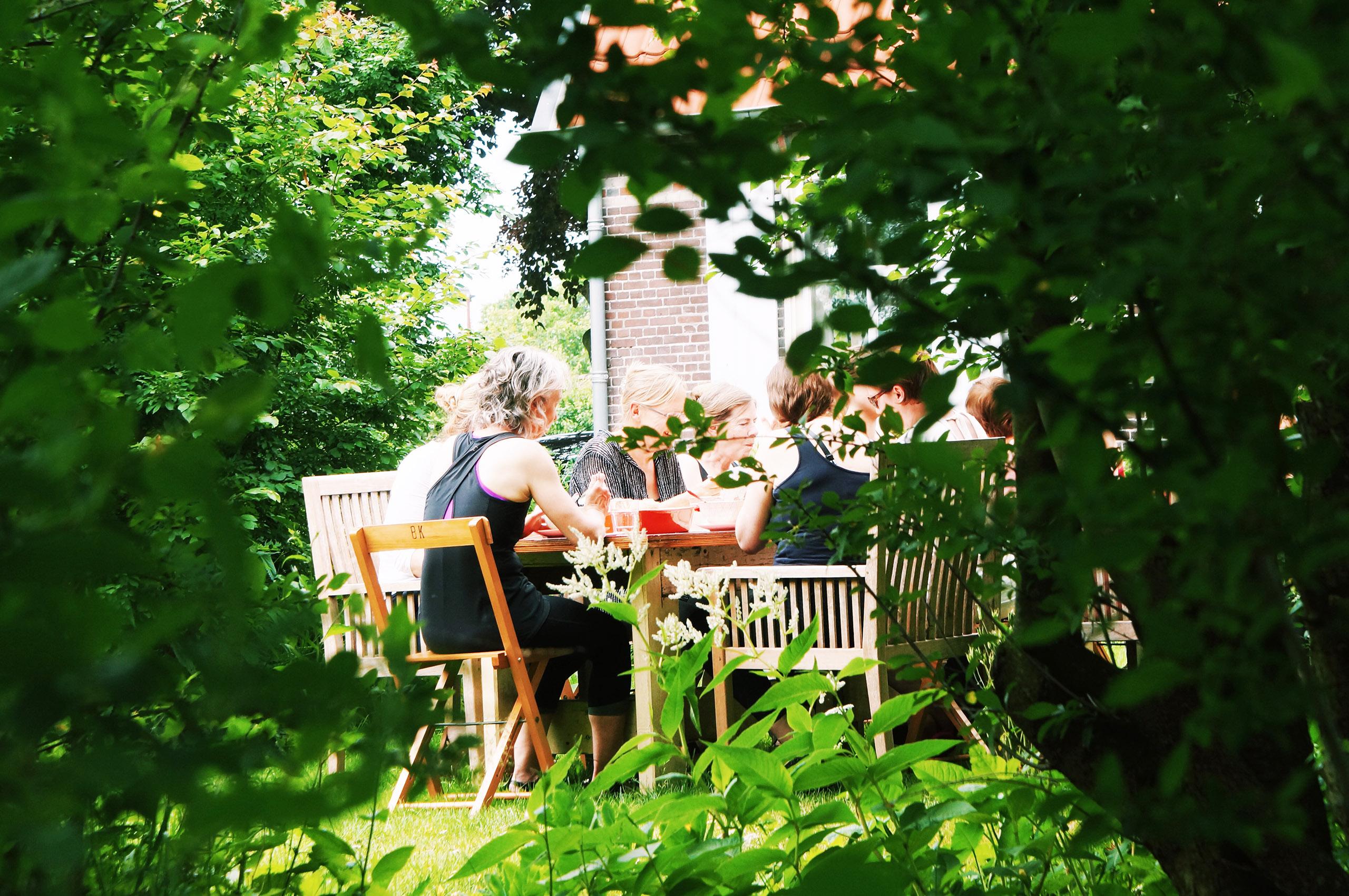 lange tafel lunch